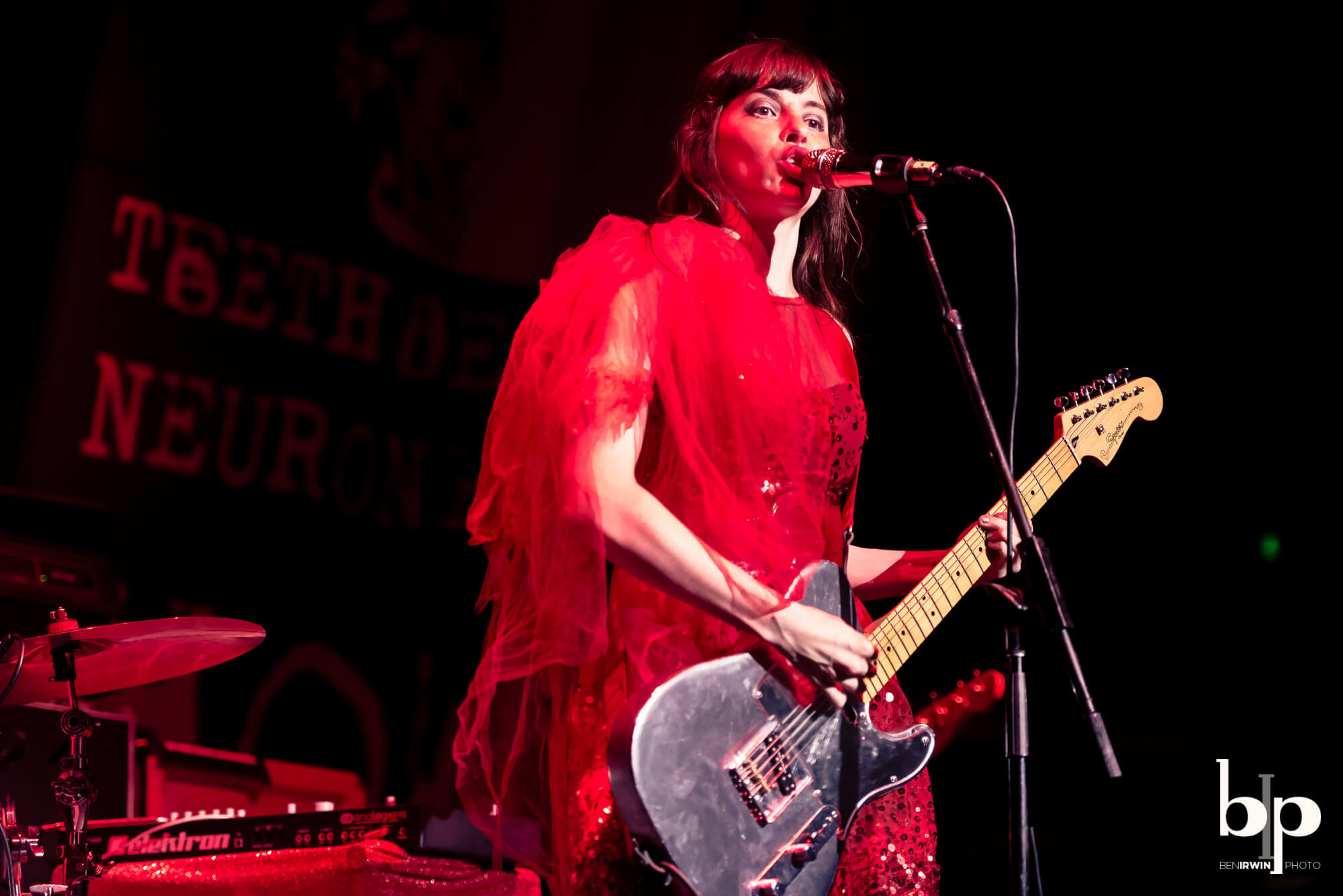 At The Drive In - le butcherettes - Hollywood palladium - 6-1-16_BI5749