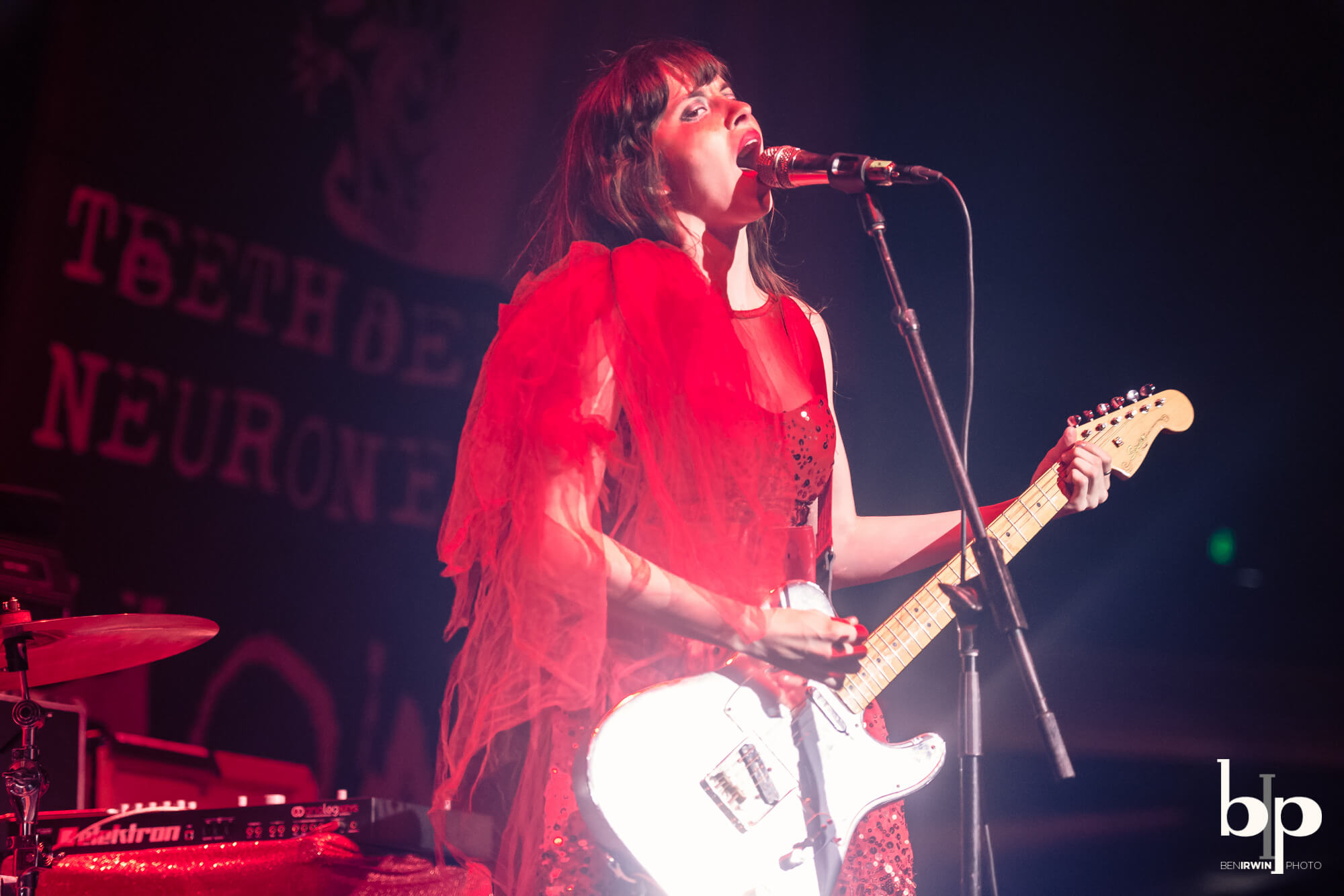 At The Drive In - le butcherettes - Hollywood palladium - 6-1-16_BI5754