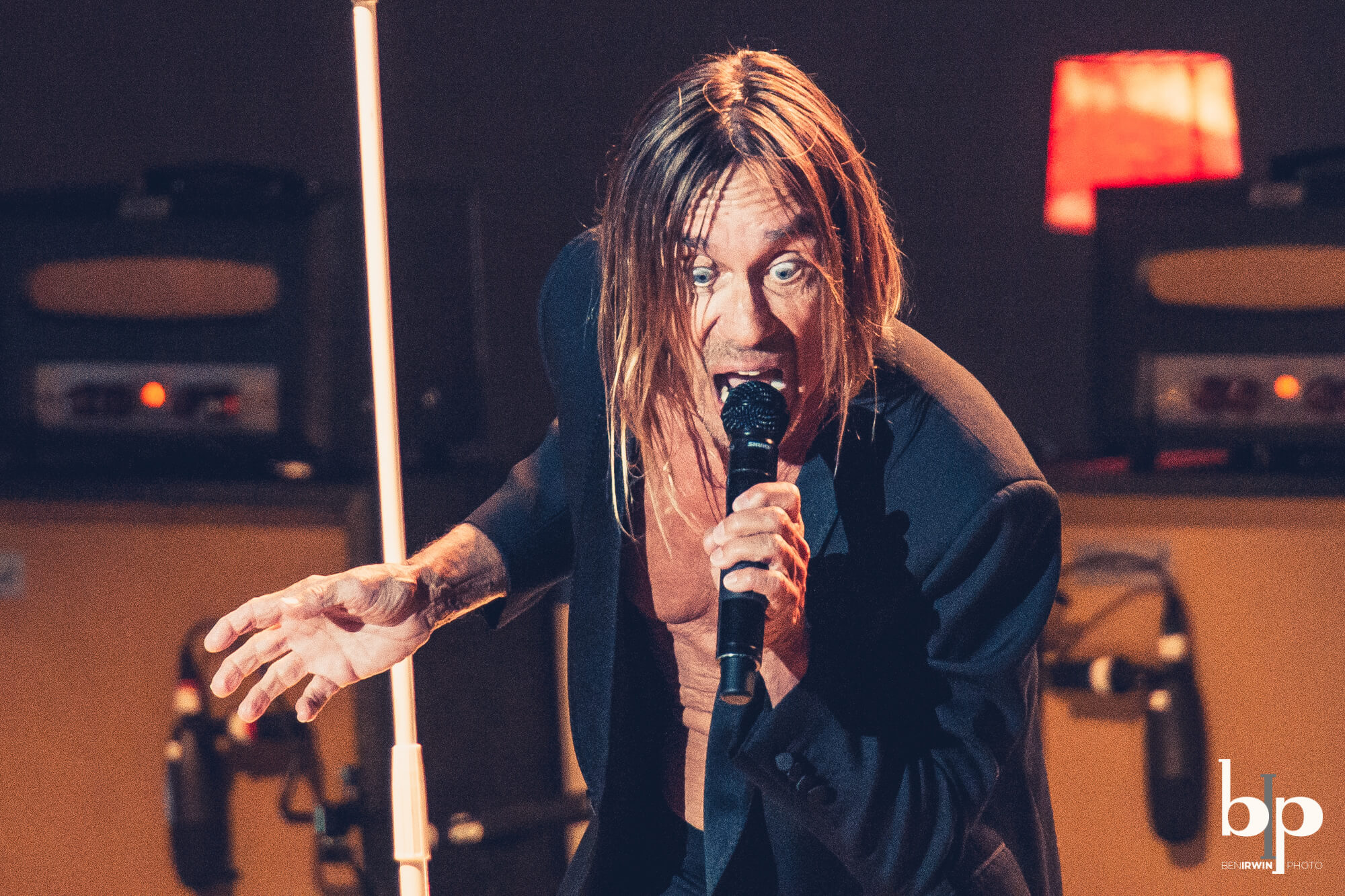 Iggy Pop - Josh Homme - bill callahan - Greek LA - 4-28-16_BI5165