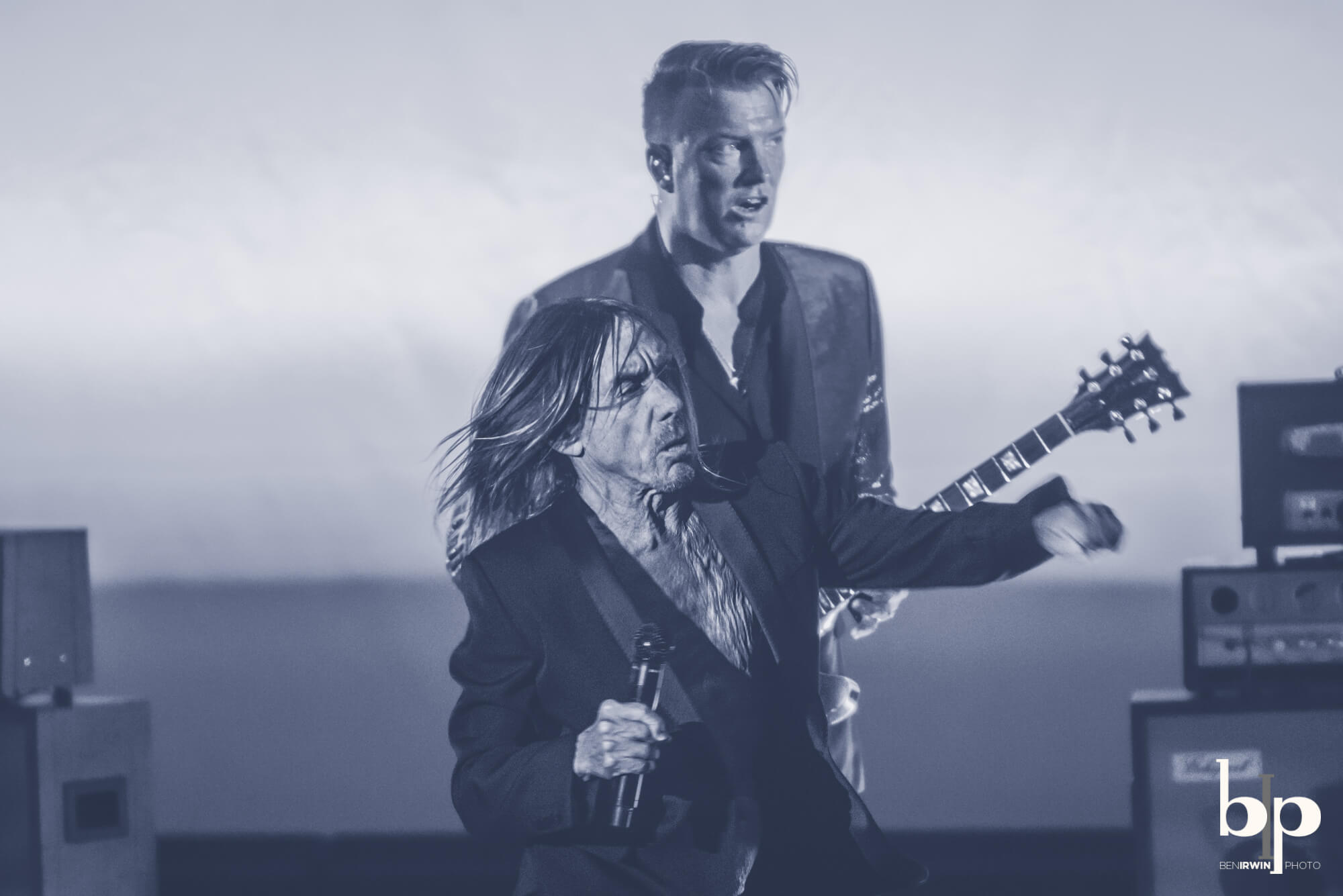 Iggy Pop - Josh Homme - bill callahan - Greek LA - 4-28-16_BI5224