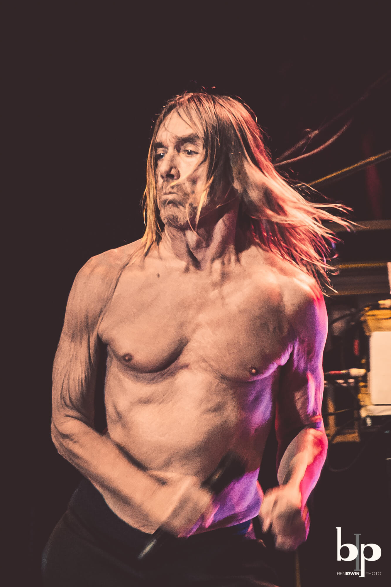 Iggy Pop - Josh Homme - bill callahan - Greek LA - 4-28-16_BI5274