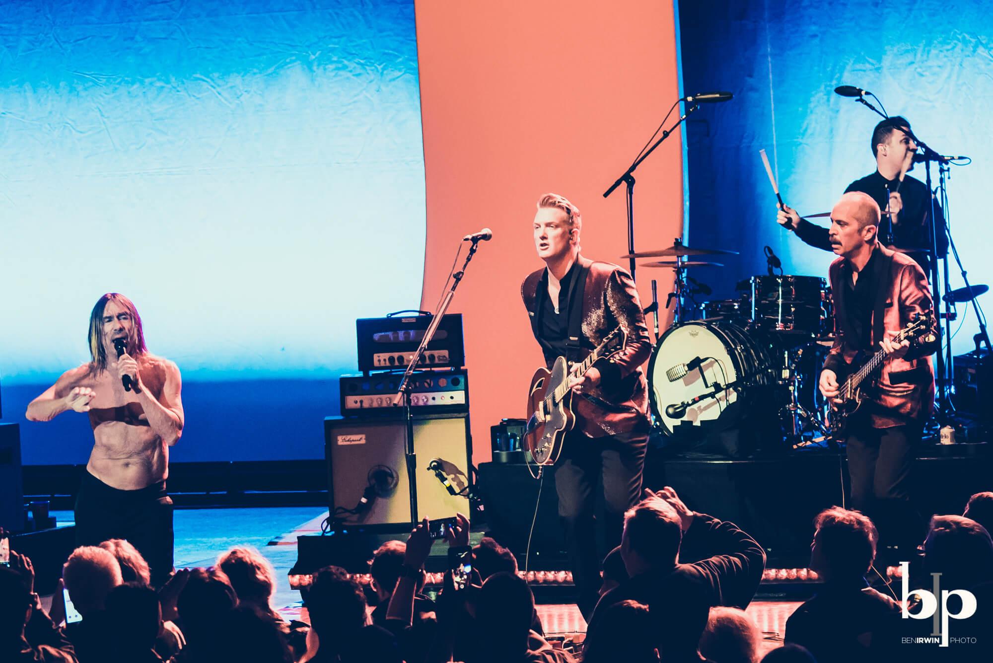 Iggy Pop - Josh Homme - bill callahan - Greek LA - 4-28-16_BI5287