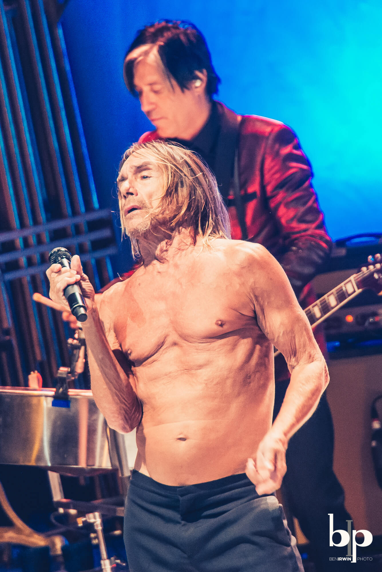 Iggy Pop - Josh Homme - bill callahan - Greek LA - 4-28-16_BI5296