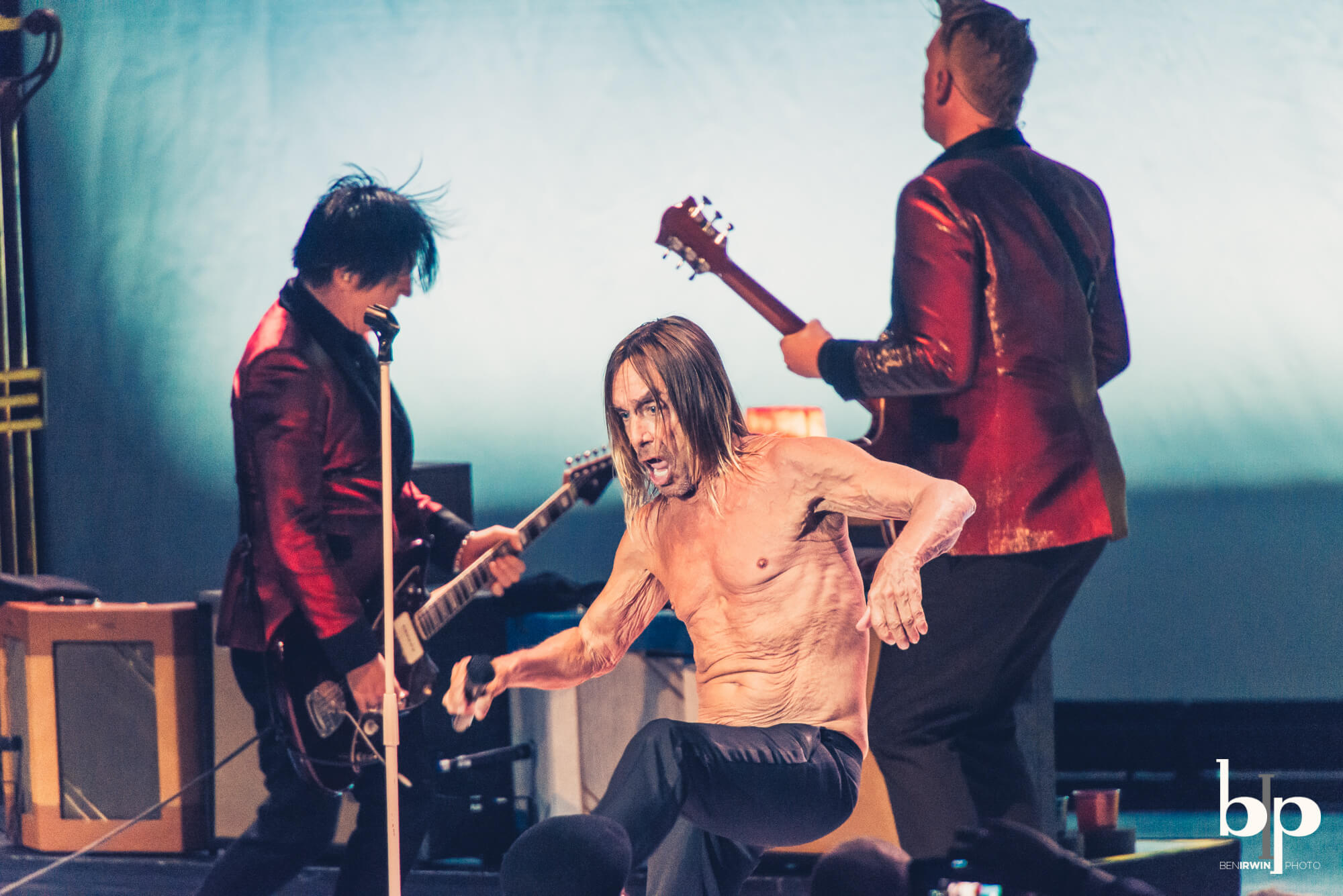 Iggy Pop - Josh Homme - bill callahan - Greek LA - 4-28-16_BI5343